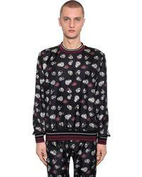 Dolce & Gabbana - シルクツイルスウェットシャツ - Lyst