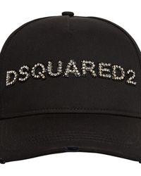 DSquared² コットンキャップ - ブラック