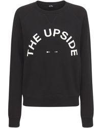 "The Upside Sweat-shirt ""bondi Horseshoe Crew"" - Noir"