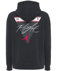 Nike Худи Jordan Из Флиса - Черный