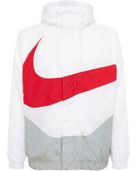 Nike Куртка Swoosh - Белый