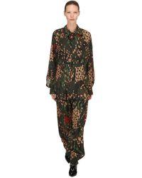 Vivienne Westwood Alcoholic Satin Jumpsuit - Multicolour