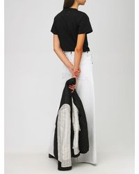 Maison Margiela コットンジャージーtシャツ - ブラック