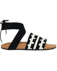 adidas Originals Adilette Ankle Wrap Sandals - Black