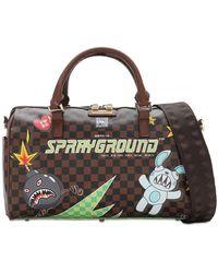 Sprayground Сумка Thunder Sharks - Коричневый