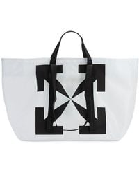 Off-White c/o Virgil Abloh - Pvcトートバッグ - Lyst