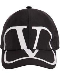 Valentino Vlogo テクノ野球帽 - ブラック