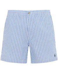 Polo Ralph Lauren コットンオックスフォードビーチ水着 - ブルー