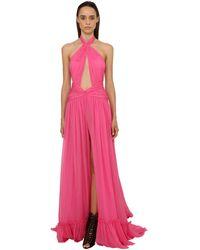Dundas ジョーゼットドレス - ピンク