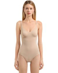 Wolford - Mat De Luxe Forming Bodysuit - Lyst