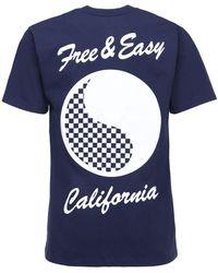 Vans X Free & Easy コットンtシャツ - ブルー