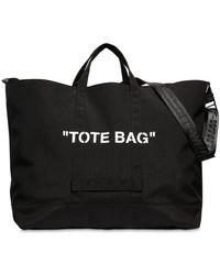 "Off-White c/o Virgil Abloh - """"""tote Bag"""" Tech Canvas Tote Bag"" - Lyst"