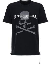MASTERMIND WORLD コットンジャージーtシャツ - ブラック