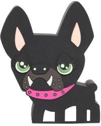 DSquared² Pvc Hilde Dog Speaker - Black