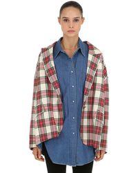 Pushbutton - Chaqueta Con Camisa De Denim - Lyst