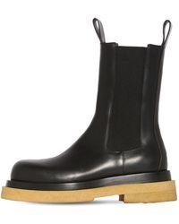 Bottega Veneta Кожаные Ботинки - Черный