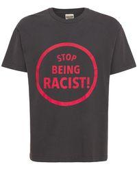GALLERY DEPT. T-shirt Aus Baumwolle Mit Druck - Schwarz