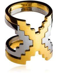 Monica Sordo Kavanagh Ring - Metallic