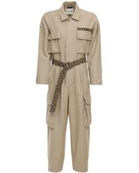 R13 Abu キャンバスジャンプスーツ - ナチュラル