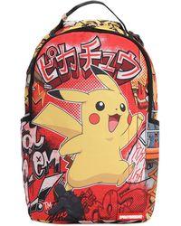 Sprayground Pikachu 2 Backpack - Mehrfarbig