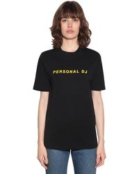 "Kirin T-shirt ""personal Dj"" - Schwarz"