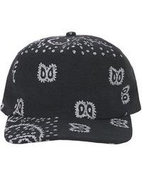 Rhude Cotton Paisley Baseball Hat - Black