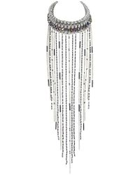 Only Child | Silver Meteor Storm Necklace | Lyst