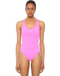 Vetements Lycra Baywatch Swimsuit - Pink
