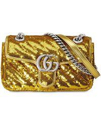 "Gucci Мини-сумка ""gg Marmont 2.0"" - Многоцветный"