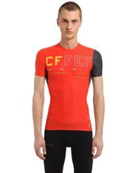 Reebok Crossfit Compression T-shirt - Orange