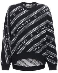 Givenchy - オーバーサイズウールセーター - Lyst
