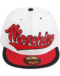 Moschino Кепка Из Хлопка - Красный