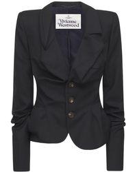Vivienne Westwood Wool Alcoholic Jacket - Black