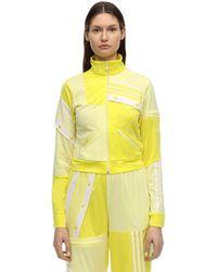 adidas Originals Plus X Danielle Cathari Plus Track Top - Yellow