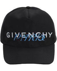 Givenchy Бейсболка Из Нейлона С Принтом - Черный