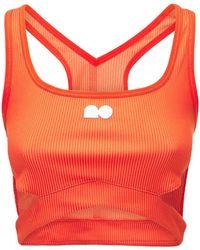 """Nike Bauchfreies Oberteil """"tennis"""" - Orange"""
