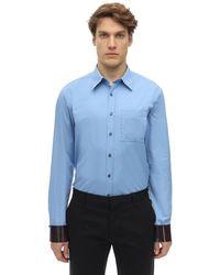 Ferragamo コットンシャツ - ブルー