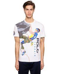 Polo Ralph Lauren - コットンジャージーtシャツ - Lyst