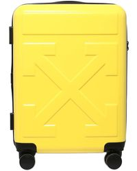 """Off-White c/o Virgil Abloh Small Tech """"for Travel"""" Arrow Trolley - Yellow"""