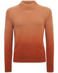 Tom Ford Трикотажный Свитер Из Кашемира - Оранжевый