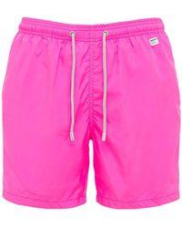 Mc2 Saint Barth Pantone Ultra Light Tech Swim Shorts - Pink