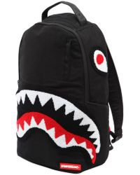 Sprayground - Ghost Chenille Shark Backpack - Lyst