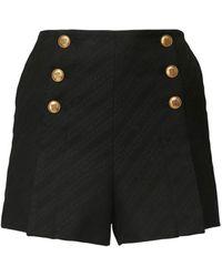 Givenchy コットンブレンドショートパンツ - ブラック