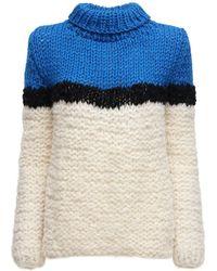 Gudrun & Gudrun Idun Wool & Alpaca Sweater - White