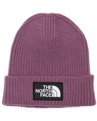 The North Face Шерстяная Шапка - Пурпурный