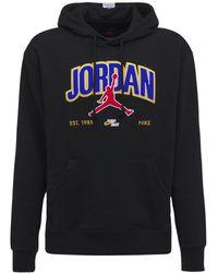 "Nike Hoodie Aus Fleece ""jumpman"" - Schwarz"