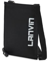 Lanvin - レザー クロスボディバッグ - Lyst