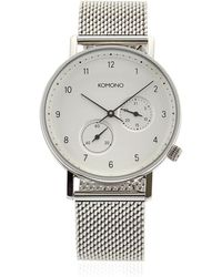 Komono - Walther Mesh Crafted Watch - Lyst
