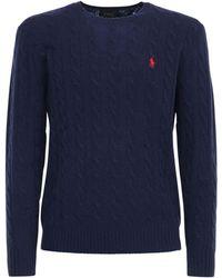 Polo Ralph Lauren - ウール&カシミアニットセーター - Lyst