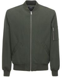 A.P.C. - Куртка-бомбер - Lyst